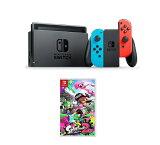 【新品】【即納】Nintendo Switch Joy-Con (L) ネオンブルー/ (R) ネオンレッド(本体) + Nintendo Switch Splatoon 2(スプラトゥーン2) 任天堂 スイッチ