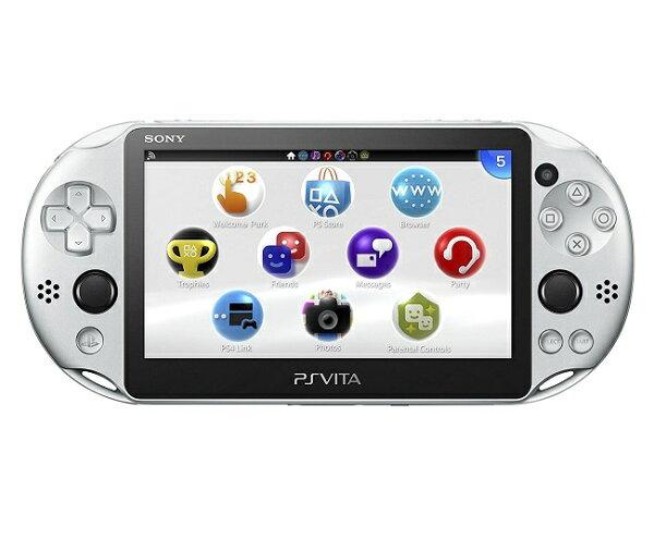 新品    PlayStationVitaWi-Fiモデルシルバー(PCH-2000ZA25)本体ソニー