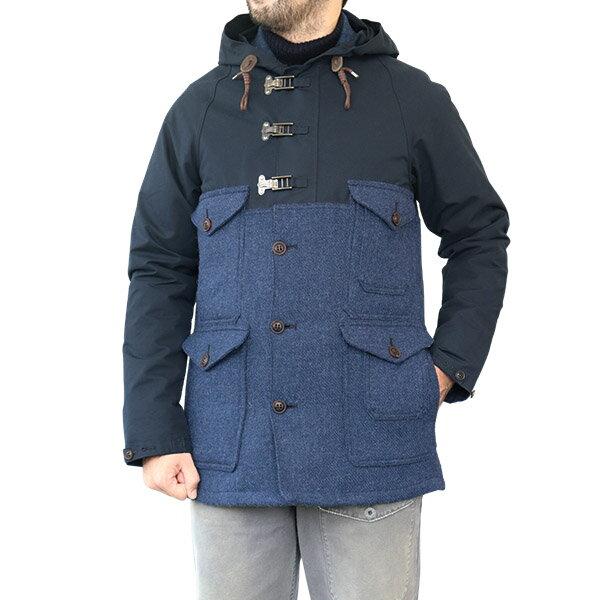 メンズファッション, コート・ジャケット NIGEL CABOURN CAMERAMAN JACKET CLASSIC VENTILE HARRIS TWEED DARK NAVY AUTHENTIC LINE