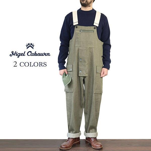メンズファッション, オーバーオール NIGEL CABOURN LYBRO NAVAL DUNGAREE JAPANESE DENIM 2 COLORS