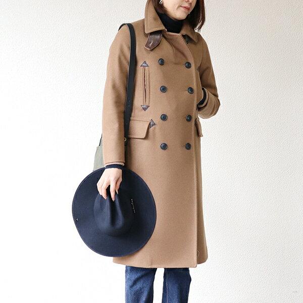 レディースファッション, コート・ジャケット NIGEL CABOURN WOMAN LONG PEA COAT CAMEL MAIN LINE