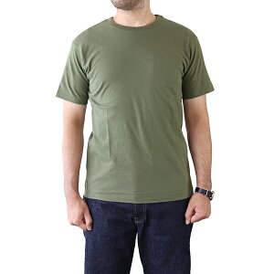 EASTMAN LEATHER CLOTHING イーストマン・レザー・クロージング T-SHIRT U.S.M.C. VIETNAM ISSUE OLIVE MADE IN JAPAN 無地Tee
