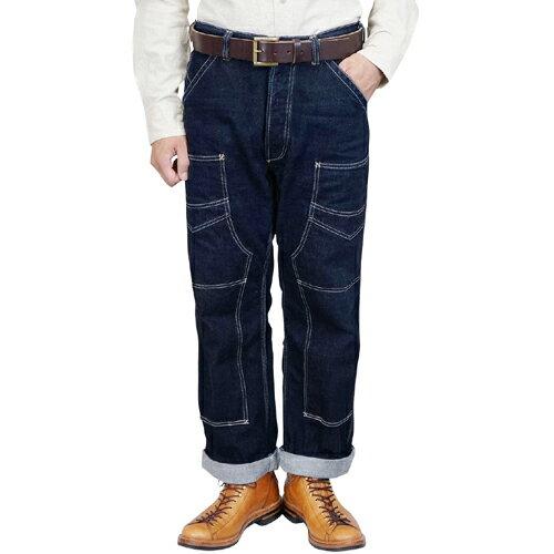 メンズファッション, ズボン・パンツ FREEWHEELERS DERRICKMAN OVERALLS 1920 - 1930s STYLE WORK CLOTHING 13.5oz INDIGO DENIM