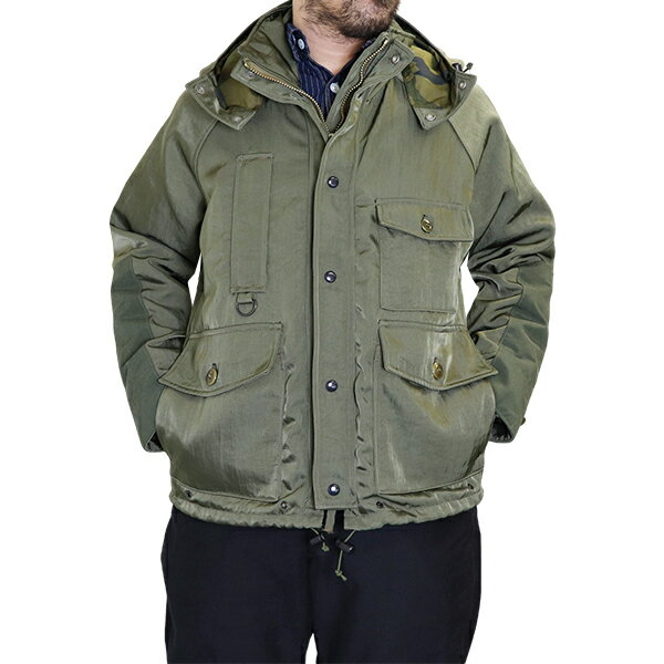 メンズファッション, コート・ジャケット FREEWHEELERS POINTER OUTDOOR STYLE FIELD JACKET NYLON TWILL OLIVE GREEN