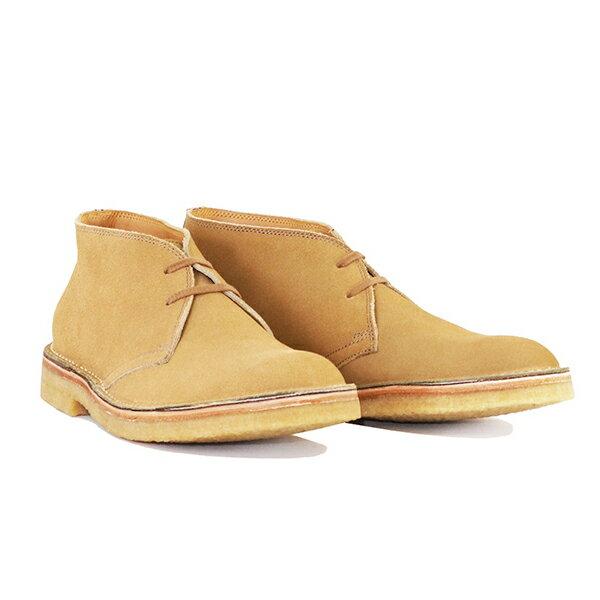 ブーツ, デザート JOHN LOFGREN BOOTMAKER MILITARY DESERT BOOTS SAND MADE IN JAPAN
