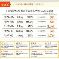 【送料無料】ドクターズファーマシーマルチビタミン180粒×3P8種類のビタミン+7種類の補助成分