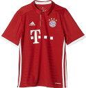 adidas(アディダス)サッカーゲームシャツ・パンツKIDS FCバイエルン ホーム レプリカユニフォーム(ジュニアサイズ)BDJ60FCBトゥルーRED/W