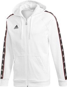 adidas(アディダス)サッカースウェット・トレーナTANGO STREET スウェット テープフードジャケットFRW16WHT