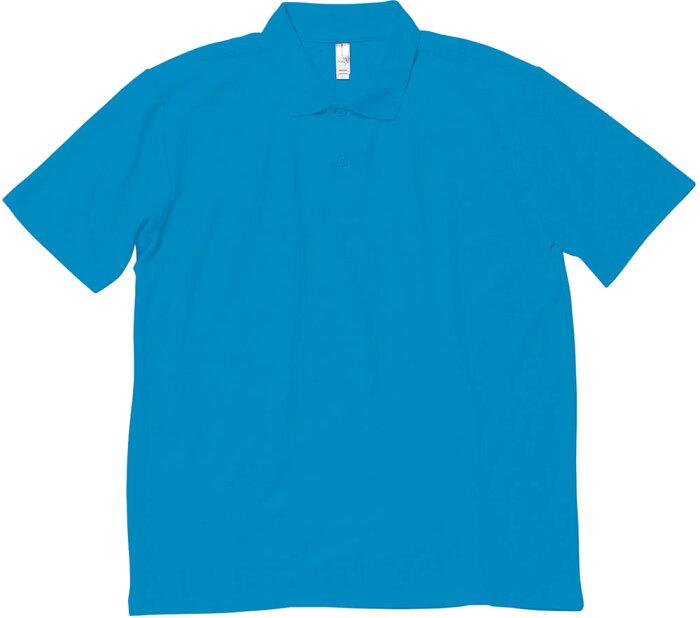 【ラッキーシール対象】 BONMAX(ボンマックス)カジュアルポロシャツ【男女兼用 Tシャツ】 イベントポロシャツMS3108ターコイズ