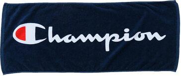 【ラッキーシール対象】Champion(チャンピオン)バスケットタオルフェースタオルC3NB710Aネイビー