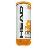 【1日限定P最大10倍】HEAD(ヘッド)テニスジュニア用硬式テニスボール_HEAD_T_.__._P_ORANGE(3個入り)578123