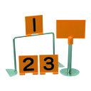 【19日20時から20日までP最大10倍】ニチヨー(NICHIYO)ニュープレイトップ(ゲート・コート表示板)NPT