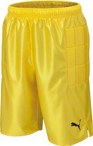 【ラッキーシール対象】PUMA(プーマ)サッカーゲームシャツ・パンツジュニア GKパンツ86221203LEMON YELL