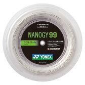 Yonex(ヨネックス)バドミントンガット・ラバーナノジー99 200mNBG992ホワイト