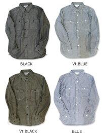 【FIVEBROTHER(ファイブブラザー)】L/Sシャンブレーワークシャツ(151214)L/SCHAMBRAYWORKSHIRTS送料無料日本正規代理店シャンブレー