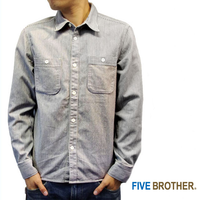 Five Brother Hickory Work Shirts