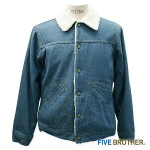 FIVE BROTHER デニム ボアジャケット 1515068