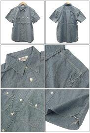 【FIVEBROTHER(ファイブブラザー)】S/Sシャンブレーワークシャツ(151215)S/SCHAMBRAYWORKSHIRTS送料無料日本正規代理店シャンブレー