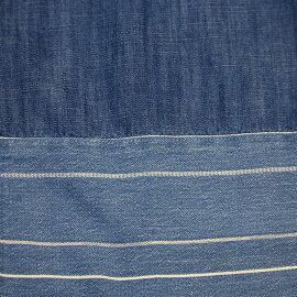 マルチボーダークレイジーシャツカジュアルシャツトップスメンズファッションFIVEBROTHER(ファイブブラザー)(151735)