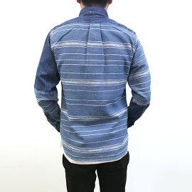 マルチボーダークレイジーシャツカジュアルシャツトップスメンズファッションFIVEBROTHER(ファイブブラザー)(151735)【送料無料】