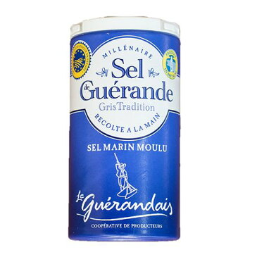 ゲランドの塩/ 細粒塩/ セル・マリン(細粒)/Sel de Guerande Sel marin moulu 【125g】 ※ネコポス非対応