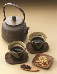 黒米・玄米をじっくり焙煎した黒焼き玄米茶。武富勝彦さんの「黒米茶」250g