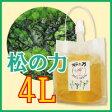 【洗濯・掃除など多用途に】松の樹液からできた万能無添加洗剤「松の力」4L【濃縮タイプ】