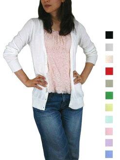 UNO SPLASH [ウノスプ rush, premium organic cotton V neck knit Cardigan 100% [take 2]