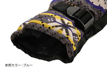 日栄産業 PL-30 ジュニア 防水インナースキーグローブ 手袋 ボードグローブ□RED【SALE】