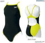 【2016S1モデル】SPEEDO(スピード)SD54T01斬新な2トーンカラー!レディース競泳トレーニング水着トレインカットスーツ
