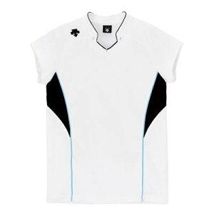 【メール便OK】DESCENTE(デサント) DSS-4833 フレンチスリーブ ゲームシャツ バレーボール WBK