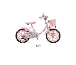 【完全組立品】ブリヂストンハローキティ16インチKT16S3子供用自転車幼児車ブリジストン26型