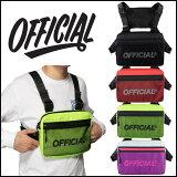 【500円クーポン】OFFICIAL オフィシャル バッグ MELROSE 2.0 CHEST UTILITY ショルダーバッグ BAG スケートボード スケボー SKATE BOARD