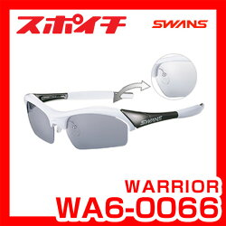 「送料無料」SWANS/スワンズWARRIORシリーズWA6-0066調光クリアtoスモークレンズウォーリアースポーツ用サングラスゴルフ自転車球技