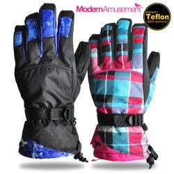 スノーボードグローブメンズ/レディーススノーグローブModernAmusementインナー付きモダンアミューズメントスノボスキーグローブ手袋ボードスノボー激安