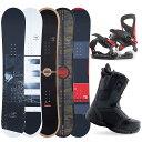 【1000円クーポン】【バイン取付無料】スノーボード 3点セット 板 メンズ スノボ スノボー グラトリ 3点 snowboard