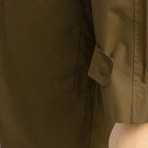 AIGLE/エーグル 中綿 ライナー付き 透湿 防水 ステンカラー コート ZBH037J-057 メンズ カーキ ベージュ アウター ブルゾン コート アウトドア 防寒 冬 ダウン