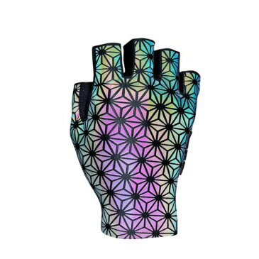 スパカズ SupaG Short グローブ オイルスリック Lサイズ SUPACAZ SupaG Short Gloves Oil Slick