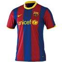 ナイキ!バルセロナ!レプリカゲームシャツ!【NIKE】ナイキ 10-11バルセロナS/S ホームゲーム...