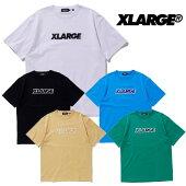 エクストララージXLARGEtシャツ半袖メンズS/STEESTANDARDLOGOPATCHホワイトブラックベージュグリーンブルーMLXL101203011019