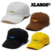 エクストララージXLARGE帽子キャップSTANDRADLOGO6PANELCAPホワイトブラックブラウンイエロー101203051009