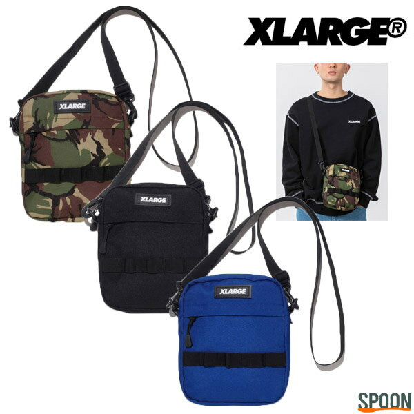 メンズバッグ, ショルダーバッグ・メッセンジャーバッグ  XLARGE MILITARY SHOULDER BAG ONESIZE 101211053002