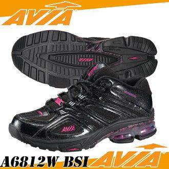阿維亞-< 準備 > A6812W BSI 黑色和銀色 / 紫色鞋健身健身鞋 Avia 樂天卡拆分器 05P03Dec16