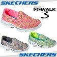 【あす楽】【30%OFF】 SKECHERS スケッチャーズ GO WALK 3-CRAZED 14061 (レディス)