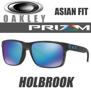 OAKLEY HOLBROOK PRIZM SAPPHIRE POLARIZED OO9244-3556 (オークリー ホルブルック プリズム 偏光レンズ サングラス) プリズム サファイア ポラライズド マット ブラック トータス