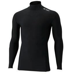YONEX ヨネックス フィットネス 全体着圧コンプレッション ハイネック長袖シャツ STBF1015 ユニ ブラック
