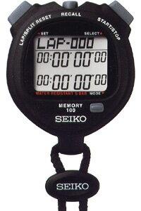 【在庫僅少】SEIKO セイコー デジタルストップウォッチ スタンダード ブラック SVAE101
