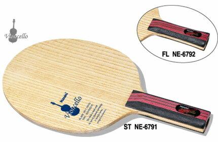 ニッタク Nittaku 卓球ラケット ビオンセロ 守備用シェークハンド FL NE-6792 フレア