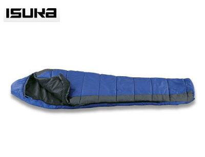 化繊3シーズンスリーピングバッグ【在庫僅少】ISUKA イスカ 寝袋シュラフ パトロール 600 11711...