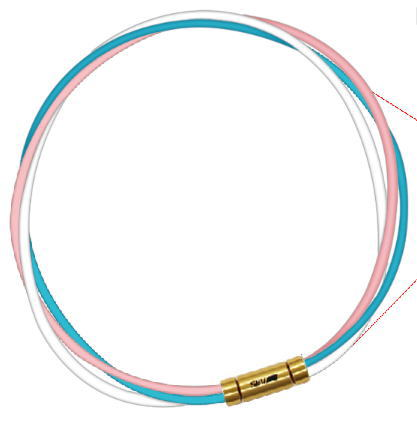 磁気アクセサリー, 磁気ネックレス 3-4 SEV 3G